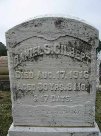 GILBERT, DANIEL S. - Lehigh County, Pennsylvania | DANIEL S. GILBERT - Pennsylvania Gravestone Photos