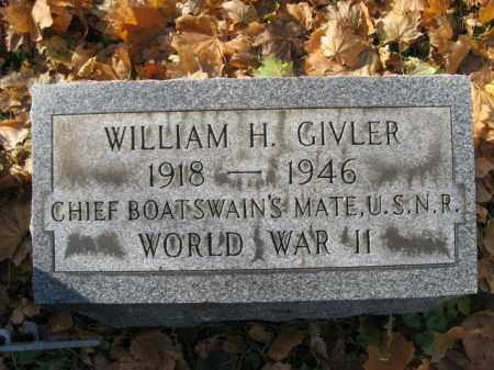 GIVLER, WILLIAM H. - Lehigh County, Pennsylvania | WILLIAM H. GIVLER - Pennsylvania Gravestone Photos