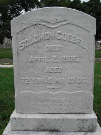 GOEBEL, LIEUT. SOLOMON - Lehigh County, Pennsylvania   LIEUT. SOLOMON GOEBEL - Pennsylvania Gravestone Photos