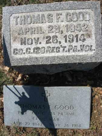 GOOD (CW), PVT.THOMAS F. - Lehigh County, Pennsylvania | PVT.THOMAS F. GOOD (CW) - Pennsylvania Gravestone Photos