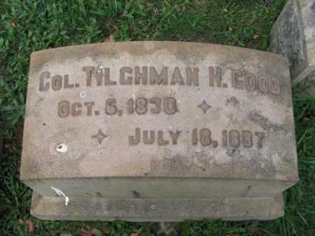 GOOD (CW), TILGHMAN H. - Lehigh County, Pennsylvania | TILGHMAN H. GOOD (CW) - Pennsylvania Gravestone Photos