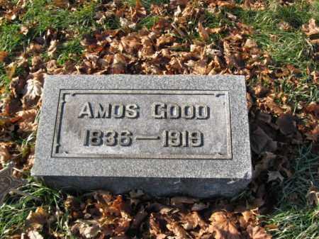 GOOD, PVT. AMOS - Lehigh County, Pennsylvania | PVT. AMOS GOOD - Pennsylvania Gravestone Photos