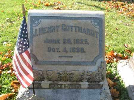 GOTTHARDT, PVT. J. HENRY - Lehigh County, Pennsylvania   PVT. J. HENRY GOTTHARDT - Pennsylvania Gravestone Photos