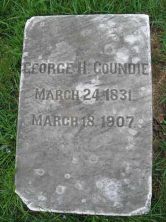 GOUNDIE, GEORGE H. - Lehigh County, Pennsylvania | GEORGE H. GOUNDIE - Pennsylvania Gravestone Photos