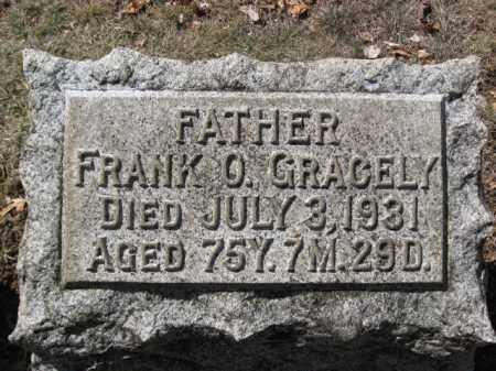 GRACELY, FRANK O. - Lehigh County, Pennsylvania | FRANK O. GRACELY - Pennsylvania Gravestone Photos