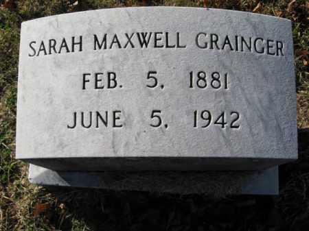 MAXWELL GRAINGER, SARAH - Lehigh County, Pennsylvania | SARAH MAXWELL GRAINGER - Pennsylvania Gravestone Photos