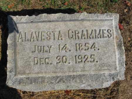 GRAMMES, ALAVESTA - Lehigh County, Pennsylvania | ALAVESTA GRAMMES - Pennsylvania Gravestone Photos