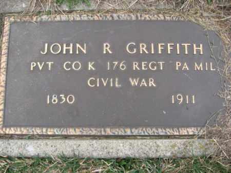 GRIFFITH  (CW), PVT.JOHN R. - Lehigh County, Pennsylvania | PVT.JOHN R. GRIFFITH  (CW) - Pennsylvania Gravestone Photos