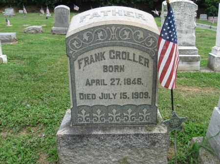 GROLLER, FRANK - Lehigh County, Pennsylvania | FRANK GROLLER - Pennsylvania Gravestone Photos