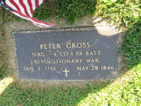 GROSS, PETER - Lehigh County, Pennsylvania   PETER GROSS - Pennsylvania Gravestone Photos