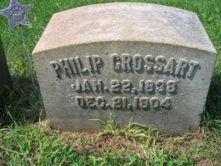 GROSSART, PHILIP - Lehigh County, Pennsylvania   PHILIP GROSSART - Pennsylvania Gravestone Photos