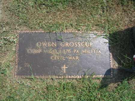 GROSSCUP, OWEN - Lehigh County, Pennsylvania | OWEN GROSSCUP - Pennsylvania Gravestone Photos