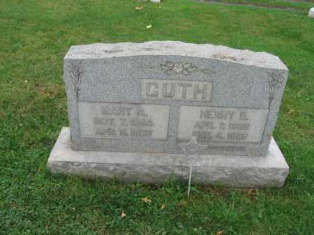 GUTH, MARY A. - Lehigh County, Pennsylvania | MARY A. GUTH - Pennsylvania Gravestone Photos