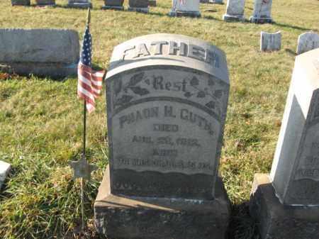 GUTH, SERGT. PHAON M. - Lehigh County, Pennsylvania | SERGT. PHAON M. GUTH - Pennsylvania Gravestone Photos