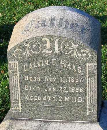 HAAS, CALVIN E. - Lehigh County, Pennsylvania | CALVIN E. HAAS - Pennsylvania Gravestone Photos