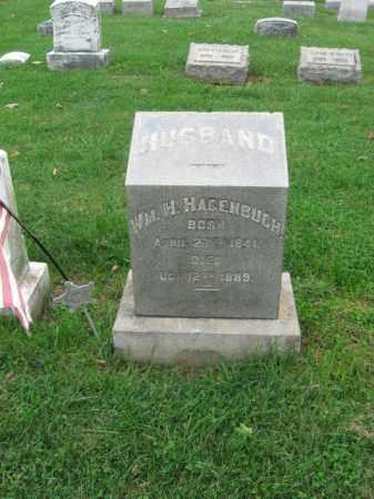 HAGENBUCH, WILLIAM H. - Lehigh County, Pennsylvania | WILLIAM H. HAGENBUCH - Pennsylvania Gravestone Photos