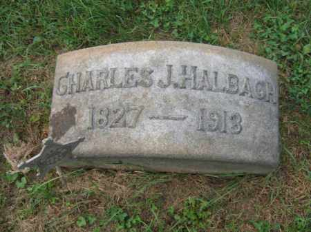 HALBACH, CHARLES J. - Lehigh County, Pennsylvania   CHARLES J. HALBACH - Pennsylvania Gravestone Photos