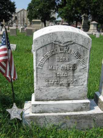 HANDSCHUH, FREDERICK       L. - Lehigh County, Pennsylvania | FREDERICK       L. HANDSCHUH - Pennsylvania Gravestone Photos