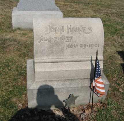 HANIES (CW), JOHN - Lehigh County, Pennsylvania   JOHN HANIES (CW) - Pennsylvania Gravestone Photos