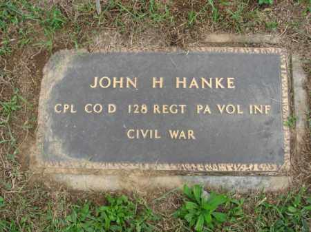 HANKE, CPL. JOHN H. - Lehigh County, Pennsylvania | CPL. JOHN H. HANKE - Pennsylvania Gravestone Photos