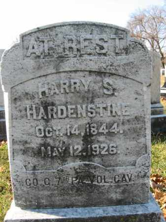 HARDENSTINE, HARRY S. - Lehigh County, Pennsylvania   HARRY S. HARDENSTINE - Pennsylvania Gravestone Photos