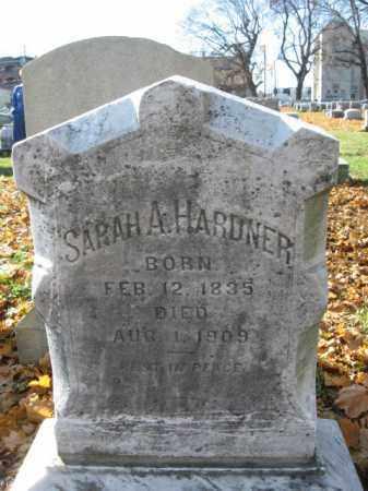 HARDNER, SARAH A. - Lehigh County, Pennsylvania   SARAH A. HARDNER - Pennsylvania Gravestone Photos