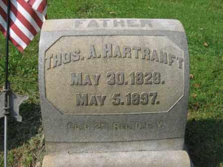 HARTRANFT, THOMAS A. - Lehigh County, Pennsylvania   THOMAS A. HARTRANFT - Pennsylvania Gravestone Photos