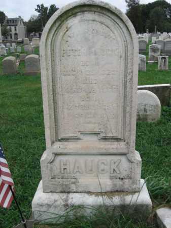 HAUCK, PETER - Lehigh County, Pennsylvania | PETER HAUCK - Pennsylvania Gravestone Photos