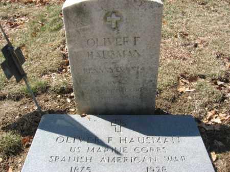 HAUSMAN, OLIVER F. - Lehigh County, Pennsylvania | OLIVER F. HAUSMAN - Pennsylvania Gravestone Photos