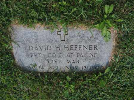 HEFFNER  (CW), PVT.DAVID H. - Lehigh County, Pennsylvania | PVT.DAVID H. HEFFNER  (CW) - Pennsylvania Gravestone Photos