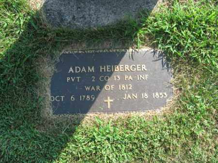 HEIBERGER, ADAM - Lehigh County, Pennsylvania | ADAM HEIBERGER - Pennsylvania Gravestone Photos