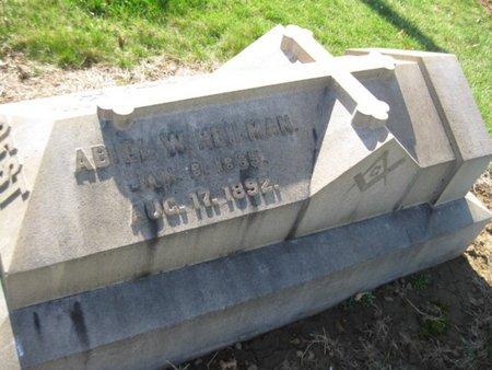 HEILMAN (CW), ABIEL - Lehigh County, Pennsylvania | ABIEL HEILMAN (CW) - Pennsylvania Gravestone Photos