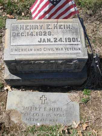 HEIN (CW), HENRY E. - Lehigh County, Pennsylvania | HENRY E. HEIN (CW) - Pennsylvania Gravestone Photos