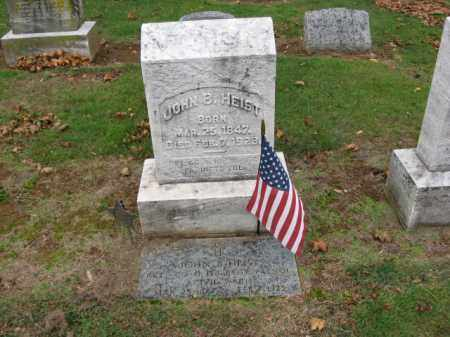 HEIST (CW), JOHN B. - Lehigh County, Pennsylvania | JOHN B. HEIST (CW) - Pennsylvania Gravestone Photos