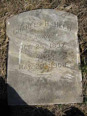 HELD, CHARLES  H. - Lehigh County, Pennsylvania | CHARLES  H. HELD - Pennsylvania Gravestone Photos