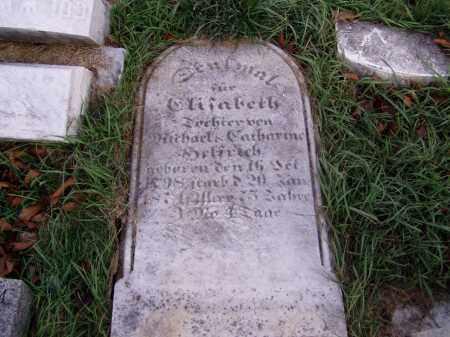 HELFRICH, ELIZABETH - Lehigh County, Pennsylvania | ELIZABETH HELFRICH - Pennsylvania Gravestone Photos