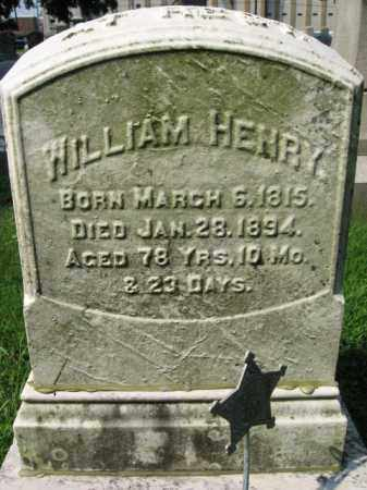 HENRY, WILLIAM - Lehigh County, Pennsylvania | WILLIAM HENRY - Pennsylvania Gravestone Photos