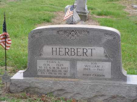 HERBERT, ELIAS S. - Lehigh County, Pennsylvania | ELIAS S. HERBERT - Pennsylvania Gravestone Photos