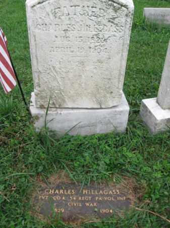 HILLAGASS, PVT.CHARLES - Lehigh County, Pennsylvania | PVT.CHARLES HILLAGASS - Pennsylvania Gravestone Photos
