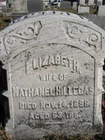 HILLEGAS, ELIZABETH - Lehigh County, Pennsylvania   ELIZABETH HILLEGAS - Pennsylvania Gravestone Photos
