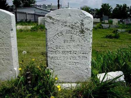 HILLEGASS, PETER - Lehigh County, Pennsylvania | PETER HILLEGASS - Pennsylvania Gravestone Photos