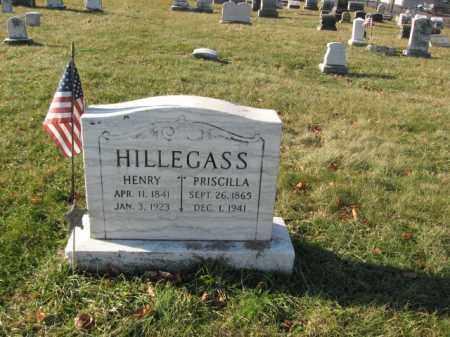 HILLEGASS, PRISCILLA - Lehigh County, Pennsylvania | PRISCILLA HILLEGASS - Pennsylvania Gravestone Photos