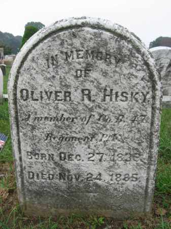 HISKY (HISKEY), SGT.OLIVER R. - Lehigh County, Pennsylvania | SGT.OLIVER R. HISKY (HISKEY) - Pennsylvania Gravestone Photos