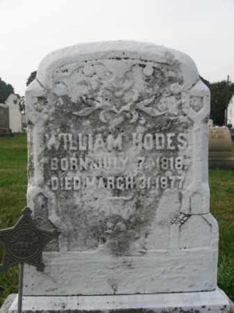 HODES, WILLIAM - Lehigh County, Pennsylvania   WILLIAM HODES - Pennsylvania Gravestone Photos