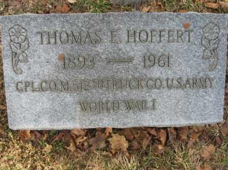 HOFFERT, CPL. THOMAS F. - Lehigh County, Pennsylvania   CPL. THOMAS F. HOFFERT - Pennsylvania Gravestone Photos