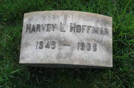 HOFFMAN, HARVEY L. - Lehigh County, Pennsylvania   HARVEY L. HOFFMAN - Pennsylvania Gravestone Photos