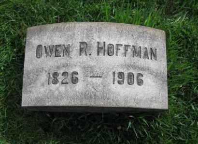HOFFMAN, OWEN R. - Lehigh County, Pennsylvania | OWEN R. HOFFMAN - Pennsylvania Gravestone Photos