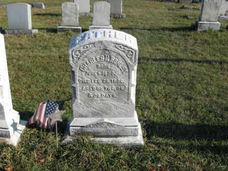 HOHLEY, PVT. CHARLES H. - Lehigh County, Pennsylvania   PVT. CHARLES H. HOHLEY - Pennsylvania Gravestone Photos
