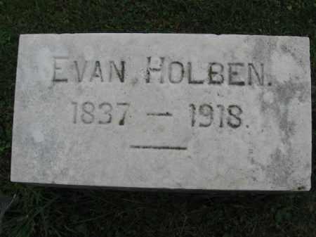 HOLBEN, EVAN - Lehigh County, Pennsylvania | EVAN HOLBEN - Pennsylvania Gravestone Photos