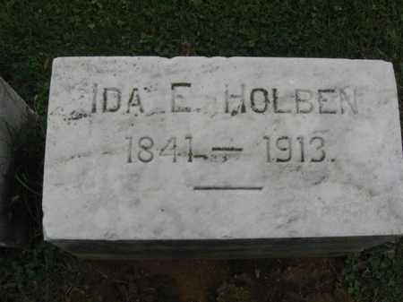 HOLBEN, IDA  E. - Lehigh County, Pennsylvania   IDA  E. HOLBEN - Pennsylvania Gravestone Photos